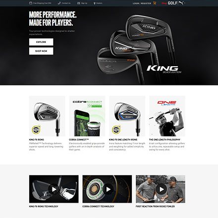 advanced online shop